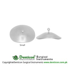 Scleral Shield Small (Pair) Stainless Steel, Blade Width 20 x 28 mm