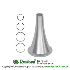Toynbee Ear Specula Set of 4 Ref: OT-022-01 to OT-022-04 Stainless Steel,