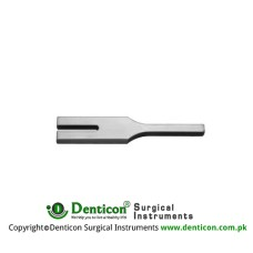 Hartmann Tuning Fork Stainless Steel, Frequency C 4096