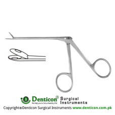 Struempel Alligator Forceps Stainless Steel, 8.5 cm - 3 1/4""