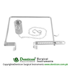Charnley Retractor Complete Stainless Steel,