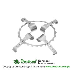 Denis-Browne Frame Only Stainless Steel, Frame Size 175 x 150 mm