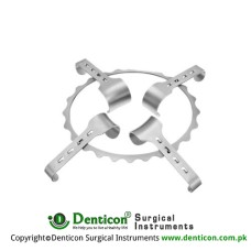 Denis-Browne Retractor Complete With Frame RT-930-15 and 2 Blades Each Ref:- RT-930-30 and RT-930-40 Stainless Steel,