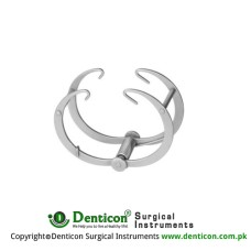 Vickers Self Retaining Retractor Blunt Ring Model For Thumb And Fingers Stainless Steel, 5 cm - 2""