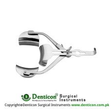 Ricard Retractor Complete With Central Blade Ref:- RT-830-02 and 1 Pair of Lateral Blaades Ref: - 15-835-90 Stainless Steel,