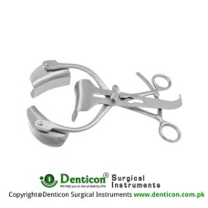 Collin Retractor Complete With Central Blade Ref:- RT-824-90 and 1 Pair of Lateral Blades Ref:- RT-835-45 Stainless Steel, 22.5 cm - 8 3/4""