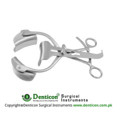 Collin-Baby Retractor Complete Stainless Steel, 20 cm - 8""