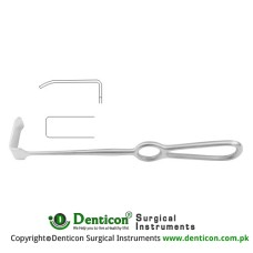 "Kocher Retractor Stainless Steel, 23 cm - 9"" Blade Size 61 x 20 mm"