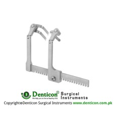 Caspar Retractor Only Wity Key Ref:- RT-960-02 Stainless Steel,