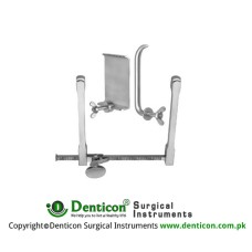 Scoville Retractor Complete With Lateral Blades Ref:- RT-953-06 and RT-953-11 Stainless Steel,