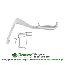 "St. Marks Pelvis Retractor Stainless Steel, 29 cm - 11 1/2"" Blade Size 142 x 60 mm - 35 x 45 mm"