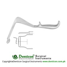 "St. Marks Pelvis Retractor Stainless Steel, 29 cm - 11 1/2"" Blade Size 193 x 60 mm - 60 x 45 mm"