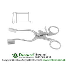 Weitlaner-Baby Self Retaining Retractor Blunt Stainless Steel, 13.5 cm - 5 1/4""
