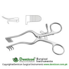 Perkins Self Retaining Retractor Right Stainless Steel, 13 cm - 5""