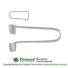 Thudichum Nasal Speculum Fig. 4 Stainless Steel,