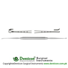 "Masing Periosteal Elevator Stainless Steel, 19.5 cm - 7 3/4"" Blade Size 1 - Blade Size 2 3.0 mm - 2.0 mm"