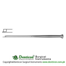 "Fomon Chisel Stainless Steel, 16 cm - 6 1/4"" Blade Width 6.0 mm"