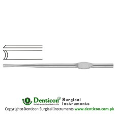 "Fomon Chisel Stainless Steel, 16 cm - 6 1/4"" Blade Width 4.0 mm"