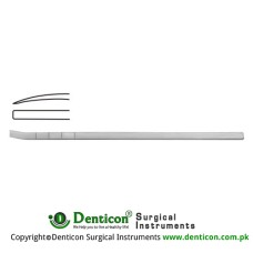 "Cottle Osteotome Curved Stainless Steel, 18.5 cm - 7 1/4"" Blade Width 6.0 mm"