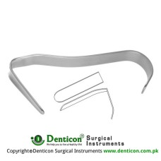 "Converse Nasal Retractor Stainless Steel, 10.5 cm / 4"" Blade Size 44 x 11 mm"