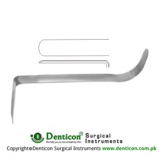 "Converse Nasal Retractor Stainless Steel, 9 cm - 3 1/2"" Blade Size 53 x 13.5 mm"