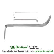 "Converse Nasal Retractor Stainless Steel, 9 cm - 3 1/2"" Blade Size 28 x 12.5 mm"
