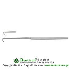 Fomon Alar Hook Button End Stainless Steel, 17 cm - 6 3/4""