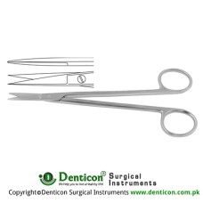 Kelly Dissecting Scissor / Opreating Scissor Straight Stainless Steel, 16 cm - 6 1/4""