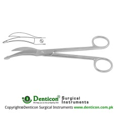 Waldmann Nasal Scissor One Toothed Cutting Edge Stainless Steel, 18 cm - 7""