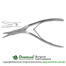 Caplan Septum Scissor One Toothed Cutting Edge Stainless Steel, 20 cm - 8""
