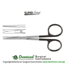 SuperEdge™ Strabismus Scissor Straight Stainless Steel, 11.5 cm - 4 1/2""