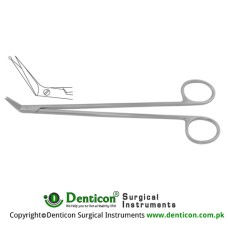 Potts-Smith Vascular Scissor Angled 60° With Probe Tip Stainless Steel, 18 cm - 7""