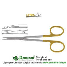 UltraCut™ TC Iris Scissor Curved Stainless Steel, 11.5 cm - 4 1/2""