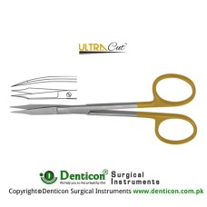 UltraCut™ TC Goldman-Fox Gum Scissor Curved Stainless Steel, 13 cm - 5""