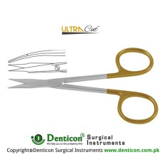 UltraCut™ TC Stevens Tenotomy Scissor Curved - Sharp/Sharp Stainless Steel, 10.5 cm - 4 1/4""