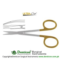 UltraCut™ TC Stevens Tenotomy Scissor Curved - Blunt/Blunt Stainless Steel, 11.5 cm - 4 1/2""