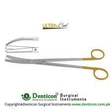 UltraCut™ TC Sims Uterine Scissor Curved Stainless Steel, 23 cm - 9""