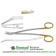 UltraCut™ TC Dean Gum Scissor S Shaped - One Toothed Cutting Edge Stainless Steel, 17.5 cm - 7""
