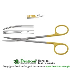 UltraCut™ TC Gregory Face-lift Scissor Toothed Stainless Steel, 14 cm - 5 1/2""
