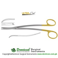 UltraCut™ TC Metzenbaum-Fine Dissecting Scissor - Slender Pattern Curved - S Shaped Stainless Steel, 20.5 cm - 8""