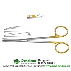 UltraCut™ TC Metzenbaum-Lahey Dissecting Scissor - Slender Pattern Curved Stainless Steel, 20.5 cm - 8""
