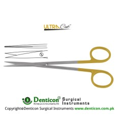 UltraCut™ TC Metzenbaum-Fine Dissecting Scissor Straight - Sharp Stainless Steel, 20 cm - 8""