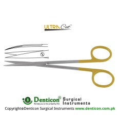 UltraCut™ TC Metzenbaum-Fine Dissecting Scissor Curved - Sharp Stainless Steel, 14.5 cm - 5 3/4""