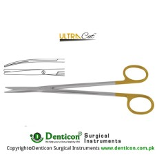 UltraCut™ TC Metzenbaum-Fine Dissecting Scissor - Slender Pattern Curved Stainless Steel, 18 cm - 7""