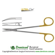UltraCut™ TC Kelly Operating Scissor Curved Stainless Steel, 16 cm - 6 1/4""