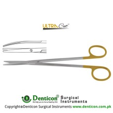 UltraCut™ TC Metzenbaum-Fine Dissecting Scissor - Slender Pattern Curved Stainless Steel, 26 cm - 10 1/4""