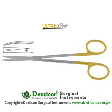 UltraCut™ TC Metzenbaum-Fine Dissecting Scissor - Slender Pattern Curved Stainless Steel, 14.5 cm - 5 3/4""