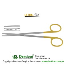 UltraCut™ TC Metzenbaum-Fine Dissecting Scissor - Slender Pattern Straight Stainless Steel, 14.5 cm - 5 3/4""