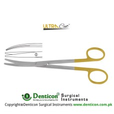 UltraCut™ TC Mayo-Lexer Dissecting Scissor Curved Stainless Steel, 16 cm - 6 1/4""