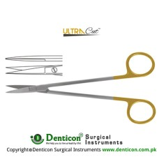 UltraCut™ TC Kelly Operating Scissor Straight Stainless Steel, 16 cm - 6 1/4""
